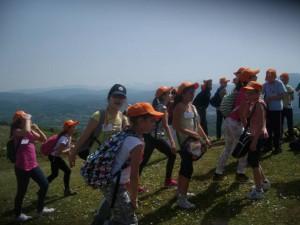 in cima al Monte Aguzzo